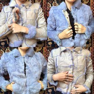 Jackets & Blazers - Reversible rabbit fur jacket